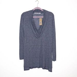 MICHAEL STARS NEW Brooklyn Long Sleeve Tunic OS
